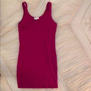 Forever 21 pink summer dress